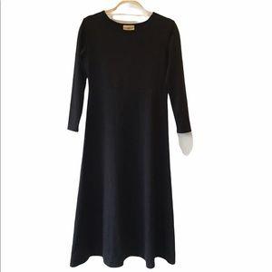 TravelSmith Black Long Dress